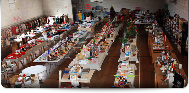 The Annual Presentation Garage Sale is April 25-27 and May 3-5, 2013. Don't miss it!